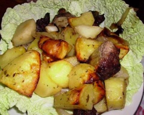 Куриные ножки с картошкой в аэрогриле рецепты